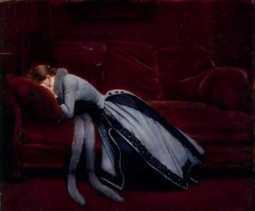 After the Misdeed Artwork by Jean Georges Beraud