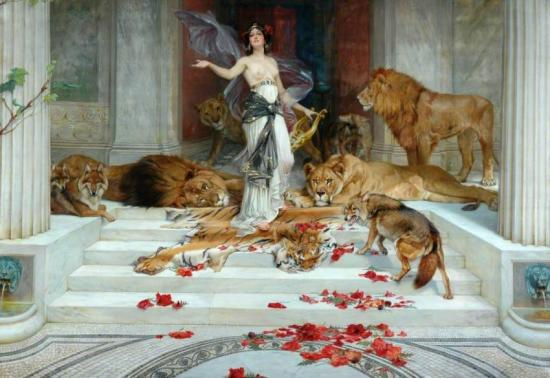 Circe, 1889 Artwork by Wright Barker