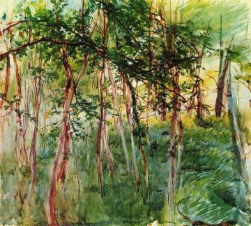 Trees in the Bois de Boulogne Artwork by Giovanni Boldini
