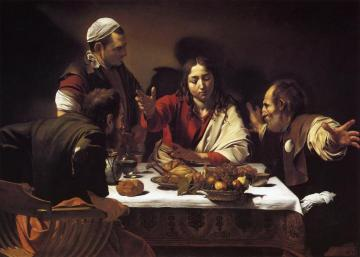 Supper At Emmaus Artwork by Caravaggio