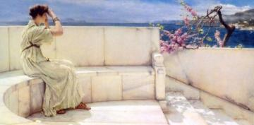 Expectations Artwork by Sir Lawrence Alma-Tadema