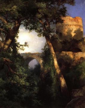Two Owls Artwork by Thomas Moran
