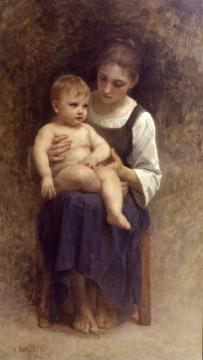 Unfinished painting Artwork by William Adolphe Bouguereau