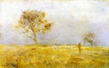 While Daylight Lingers Artwork by Charles Conder