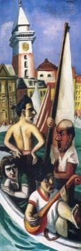 Italian Fantasy Artwork by Max Beckmann