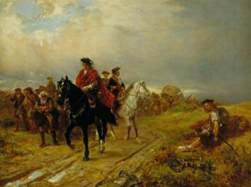 Highlanders on the March Artwork by Robert Alexander Hillingford