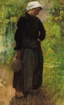 A Country Woman Artwork by Cecilia Beaux