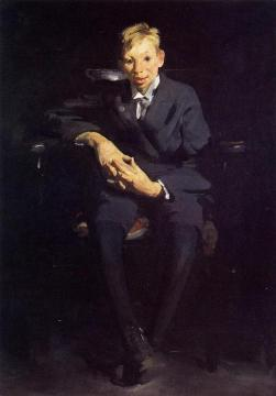 Frankie The Organ Boy Artwork by George Wesley Bellows