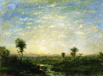 Daybreak Artwork by Ralph Albert Blakelock