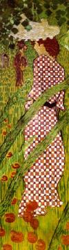 Woman In The Garden (panel 3) Artwork by Pierre Bonnard