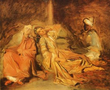 Harem Artwork by Theodore Chasseriau