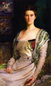 Mrs. Isaac Newton Phelps Stokes (edith Minturn) Artwork by Cecilia Beaux