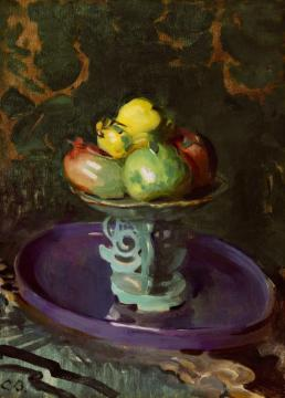 Still Life With Fruit Artwork by Cecilia Beaux