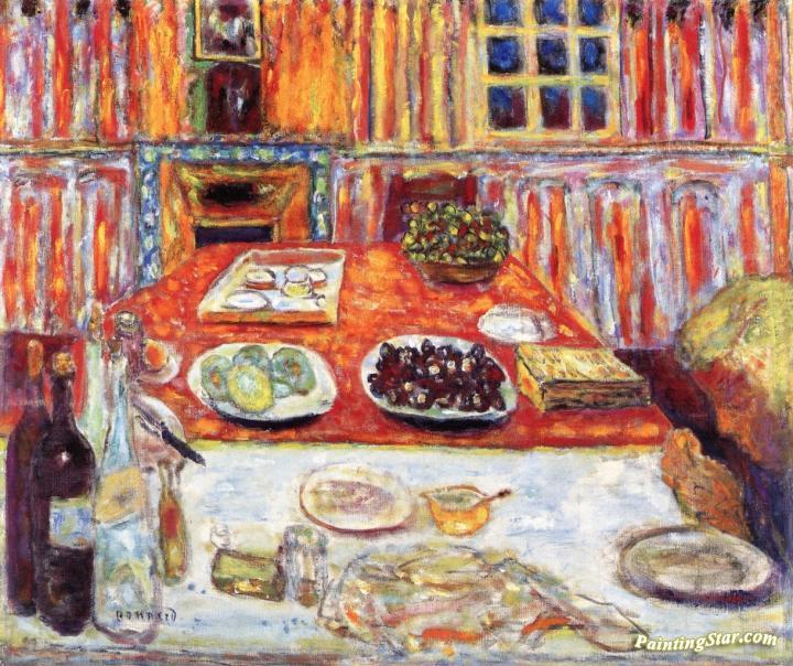 Interior Dining Room Artwork By Pierre Bonnard