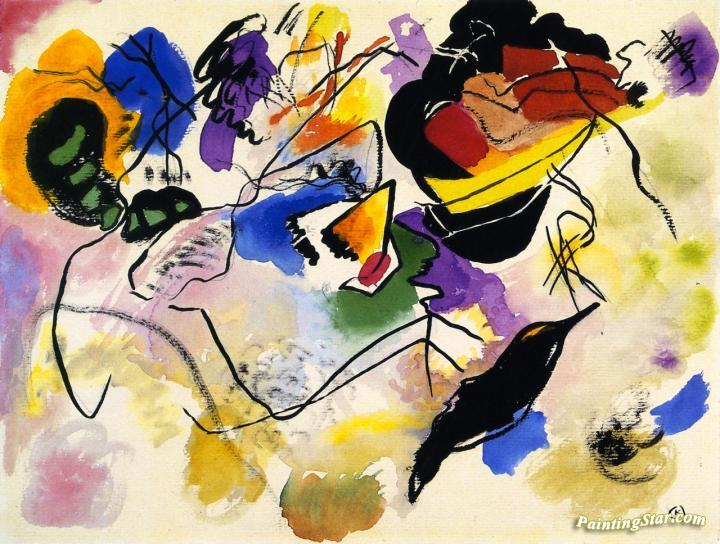 Study for 'Composition VII' Artwork by Wassily Kandinsky Oil ...