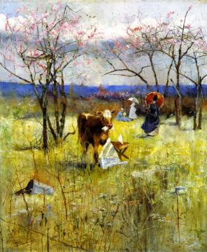 A Taste for Literature Artwork by Charles Conder