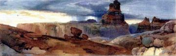 Shin-au-av-tu-weap (god Land), Canyon Of The Colorado, Utah Artwork by Thomas Moran