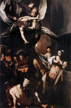 Seven Works Of Mercy Artwork by Caravaggio