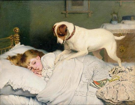 Time To Wake Up Artwork by Charles Burton Barber