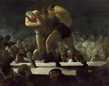 Club Night Artwork by George Wesley Bellows