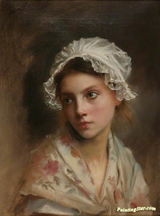 Meditation Artwork by Gustave Jean Jacquet Oil Painting & Art Prints ...