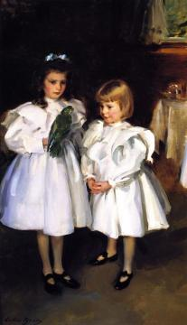 Gertrude and Elizabeth Henry Artwork by Cecilia Beaux
