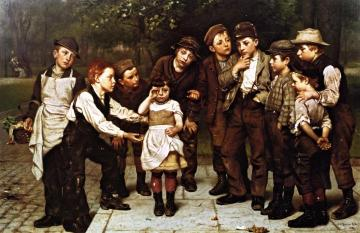 The Lost Child Artwork by John George Brown