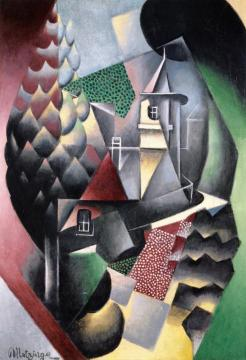 The Château Artwork by Jean Metzinger