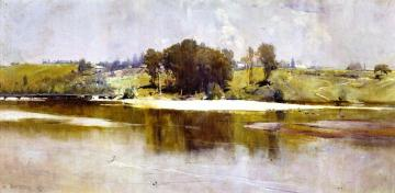 Summer Noon, Hawkesbury River Artwork by Sir Arthur Streeton