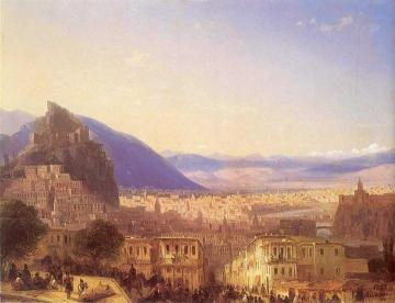 View of Tiflis Artwork by Ivan Constantinovich Aivazovsky