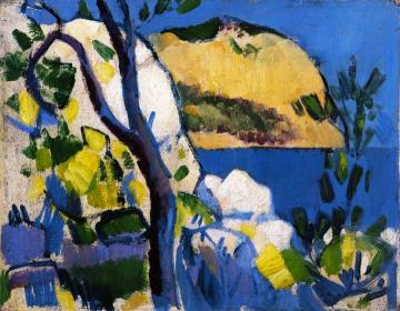 Cassis Artwork by John Duncan Fergusson