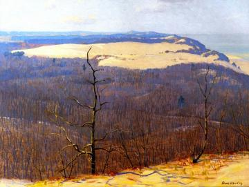 From Mt. Tom Artwork by Frank V. Dudley