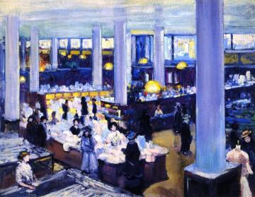 Carson Pirie Scott Department Store Artwork by Alson Skinner Clark