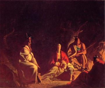Captured by Indians Artwork by George Caleb Bingham