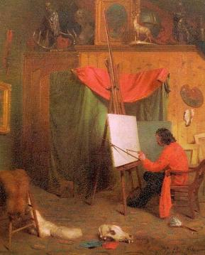 Self Portrait In The Studio Artwork by William Holbrook Beard