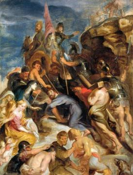 Carrying the Cross Artwork by Peter Paul Rubens