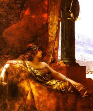Empress Theodora At The Coliseum Artwork by Benjamin Constant