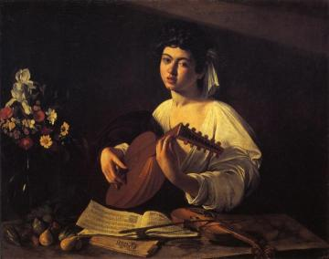 The Lute-Player Artwork by Caravaggio