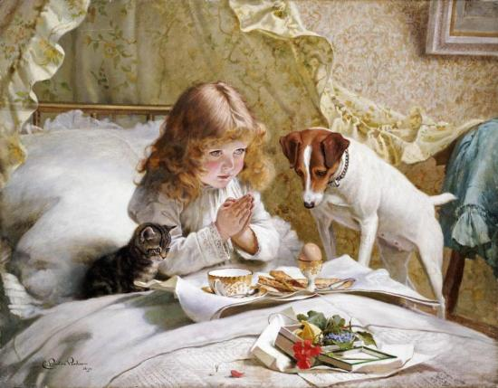 Suspense Artwork by Charles Burton Barber