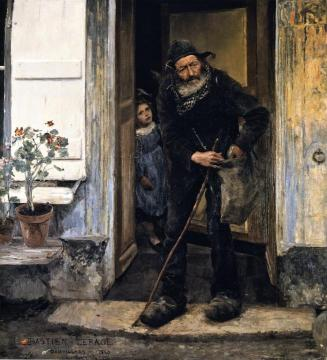 The Mendiant Artwork by Jules Bastien-Lepage