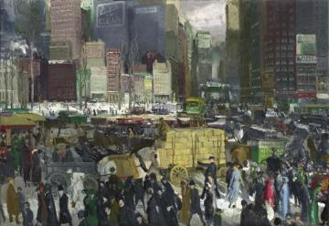 New York Artwork by George Wesley Bellows