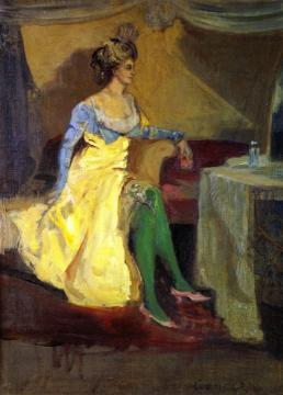 Madame Rejane Artwork by Charles Conder