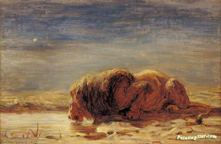 Briton Riviere Paintings For Sale
