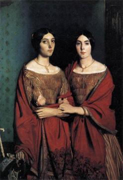 The Artist's Sisters Artwork by Theodore Chasseriau