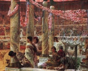 Caracella And Geta Artwork by Sir Lawrence Alma-Tadema