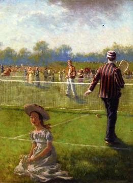 Tennis Artwork by Harry Roseland