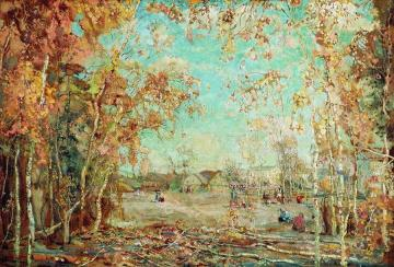 Autumn Artwork by Isaak Brodsky