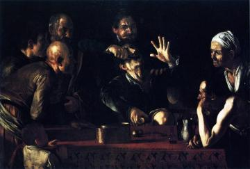 The Tooth-drawer In A Tavern Artwork by Caravaggio