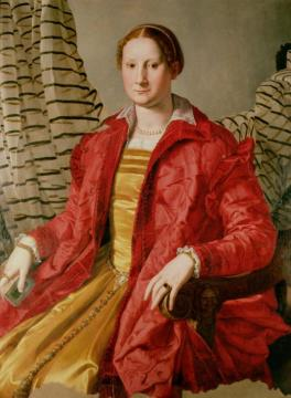 Portrait Of Eleonora Da Toledo (1519-74) Artwork by Agnolo Bronzino