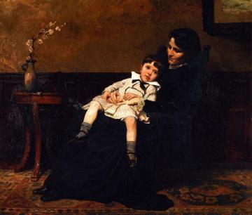 The Last Days Of Childhood Artwork by Cecilia Beaux